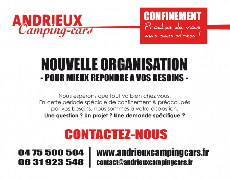 Covid-19 | Nouvelle Organisation