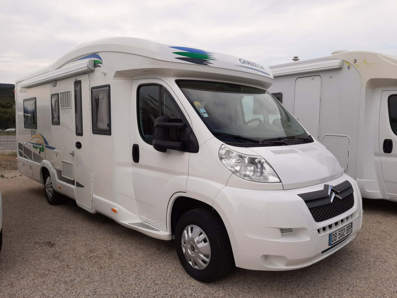 CAMPING CAR PROFILE CHAUSSON ALLEGRO 97